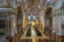 Interior of the Franciscan Church in Vienna